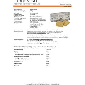 Trek'n Eat Trekking Biscuit 10er Package